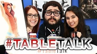 Sexy Education and Almost Nudity on #TableTalk!