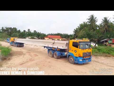 last projek di sri makmor tgkak,,launching beam by bang mat Amiri..