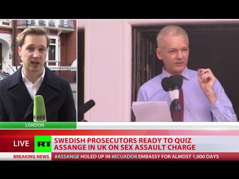 Swedish prosecutors ready to question Assange in London