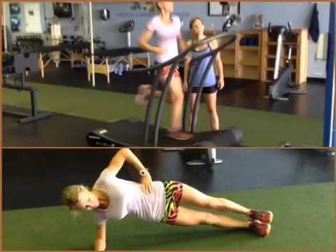 Jackie Elevated Breathing Side Planks
