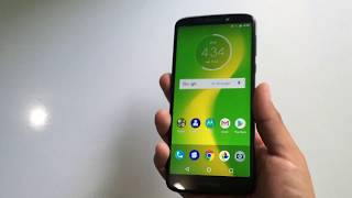 Moto G6 Forge xt1922-9 Cricket Unboxing y Mini Review en Español