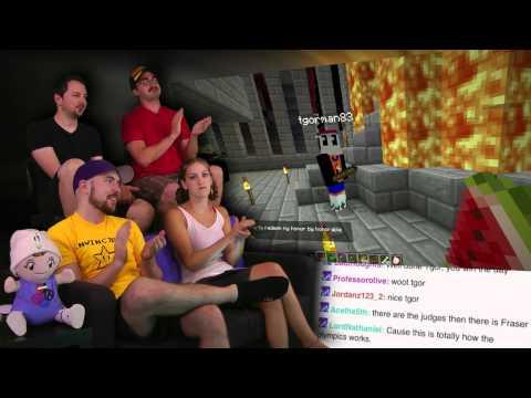 TURBO Sticks! - Minecraft AWESOME! 2012 Olympics! - Part 10