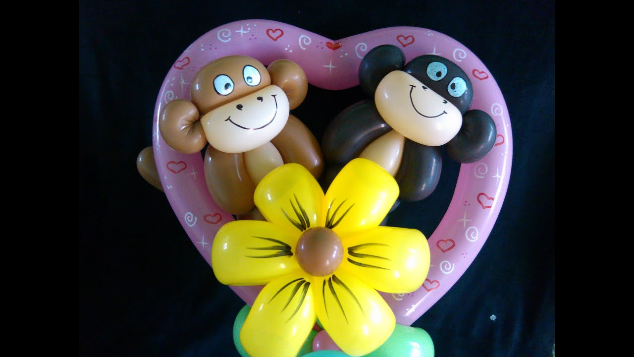 Figuras con globos balloon twisting youtube - Hacer munecos con globos ...