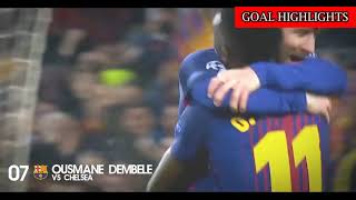 Top 10 Goals ● Round of 16 ● Champions League 2017/2018