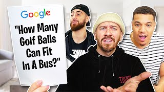 5 IMPOSSIBLE Google Interview Questions That NO ONE Can Answer!!