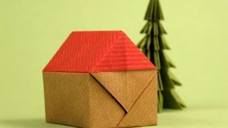 Casita - Origami Little House -instructions
