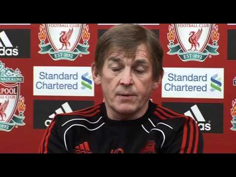 Kenny Dalglish Press Conference Pre Man United