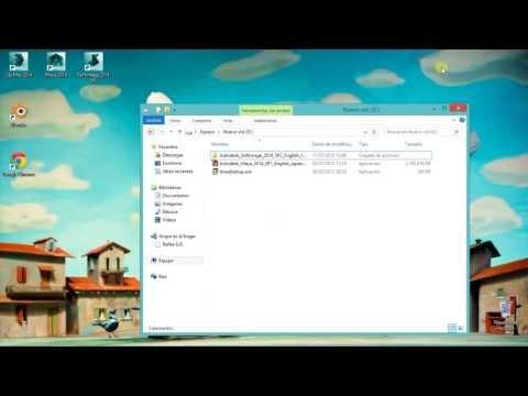 Como instalar cualquier producto de Autodesk en Windows 8