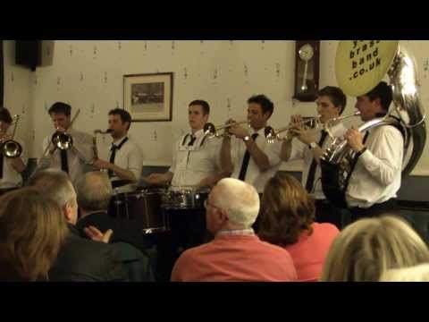 The New York Brass Band at the Conservative Club, Marsden Jazz Festival 2013
