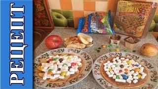 Сладости: Бонус рецепт / Сладкая пицца с фруктами в микроволновке за 5 минут! + смешные кадры