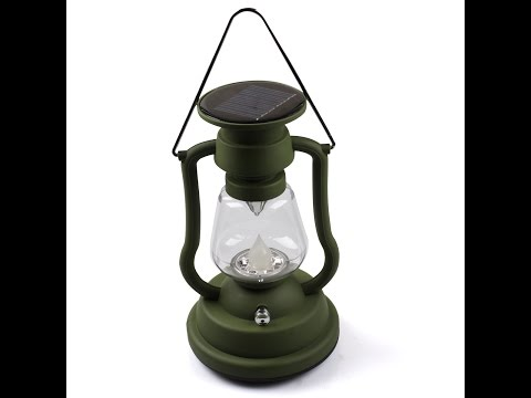 Кемпинговый светильник своими руками