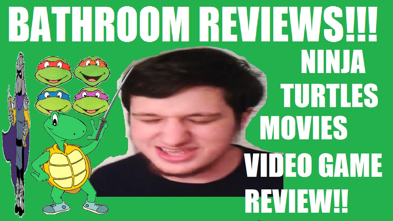 Bathroom Reviews Ninja Turtles Movies YouTube
