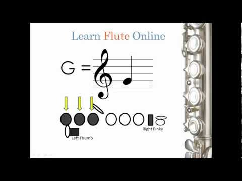 Learn Flute Online: Note Reading/Playing 04 -Module 4 Online Flute Lessons