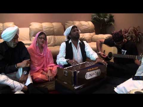 Sardool Sikandar Sahib performing at a private party.