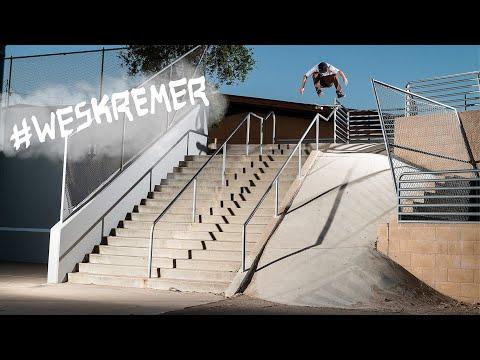 """DC Shoes' """"#WESKREMER"""" Part"""