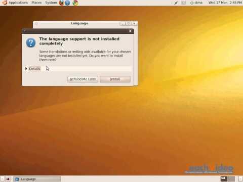 Настройка локализации в Ubuntu (7/36)
