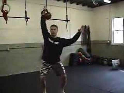Kettlebell Conditioning for BJJ-MMA: Kettlebell Training Clean & Jerk Image 1