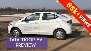 Tata Tigor Electric Car : Preview