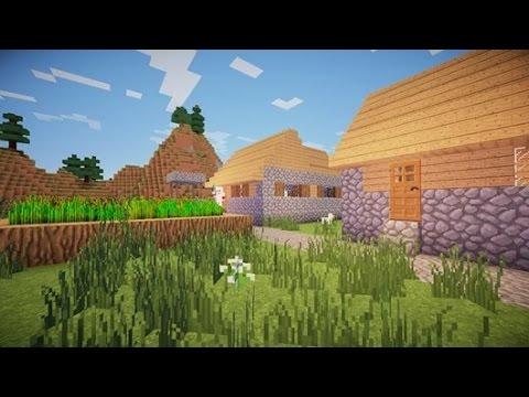 Como nascer em uma vila NPC (v.1.7) - Minecraft