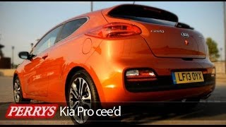 Kia ProCeed 1.6 GT Review (2013)