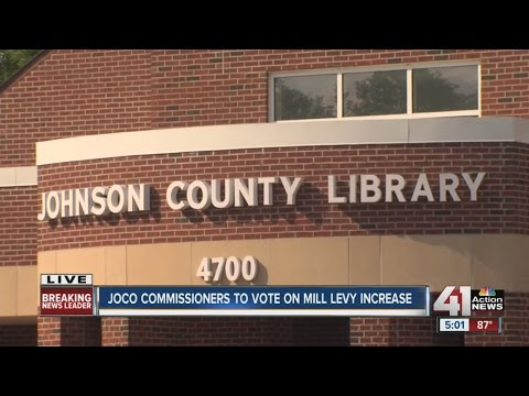 JoCo commissioners to vote on property tax increase