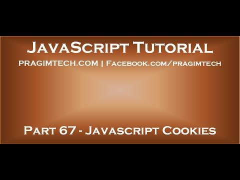 JavaScript Cookies