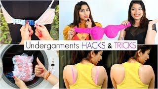9 LIFE Saving UNDER GARMENTS Hacks for Girls .. | #Bra #Lingerie #Fashion #Styling #Anaysa