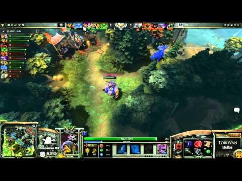 Vici Gaming vs Dream Time Game 2- SinaCup China Dota 2 WB Quarter Final - TobiWan & Bulba