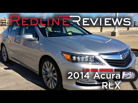 2014 Acura RLX Review, Walkaround, Exhaust, & Test Drive