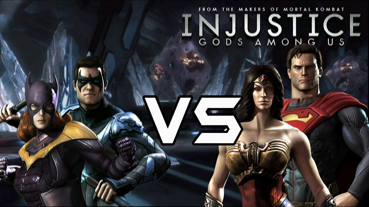 Injustice Gods Among Us - Classic Vs New 52 couples with ... New 52 Joker Injustice