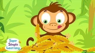 The Bananas Song | Counting Bananas | Super Simple Songs