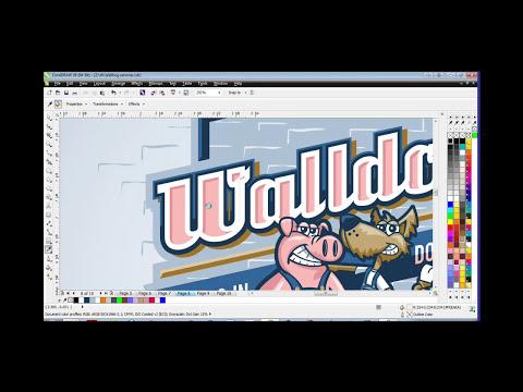Creating Cartoons in CorelDRAW®