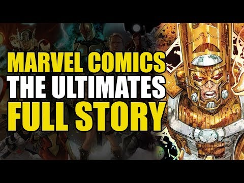 A More Powerful Galactus! (Marvel's The Ultimates: Full Story)