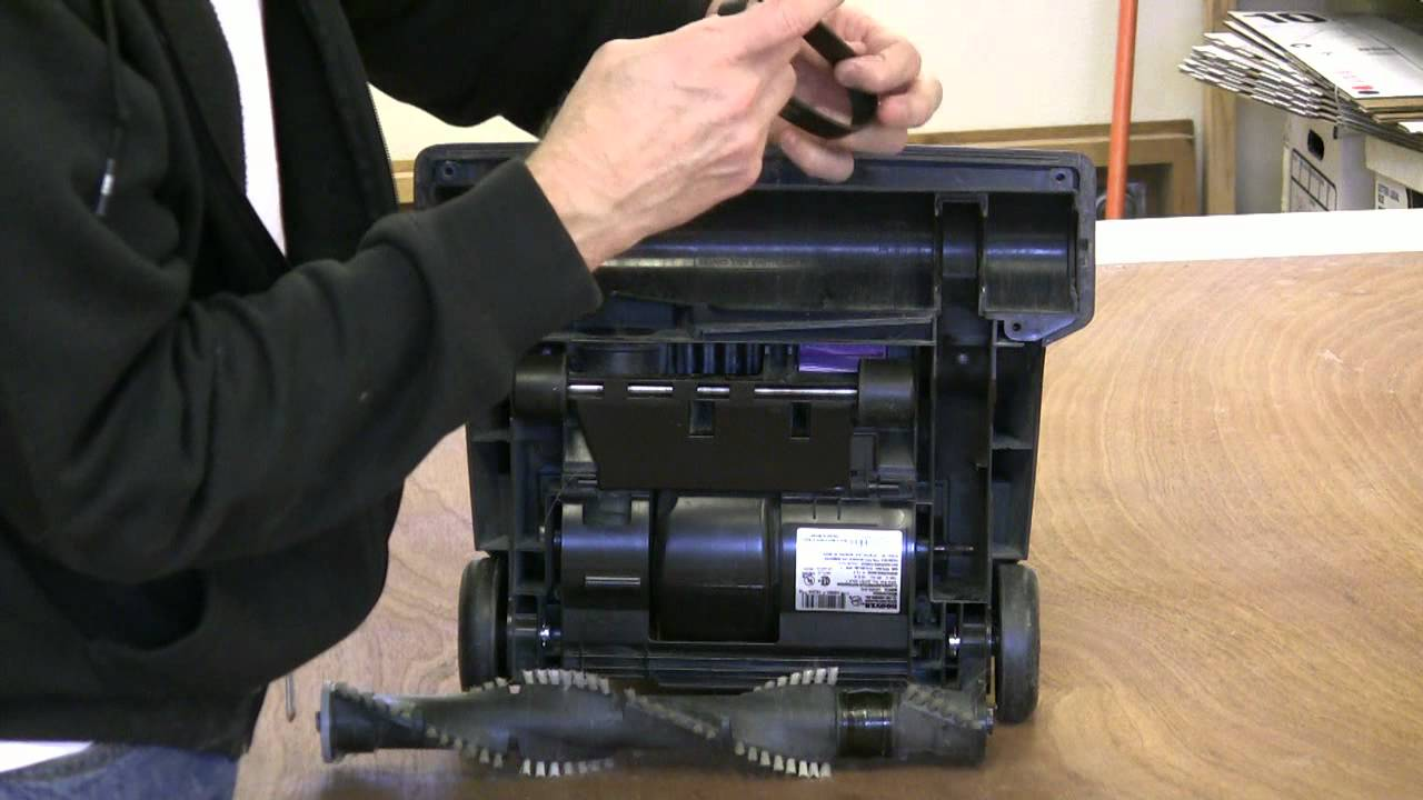 Hoover Upright Vacuum Belt Replacement Mp4 Youtube