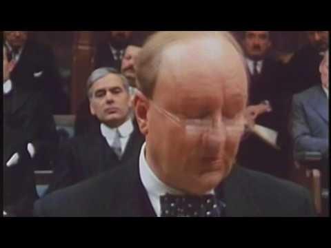 Robert Hardy as Churchill