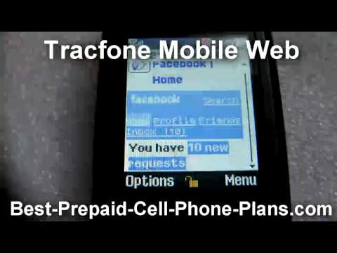 Tracfone Mobile Web Access Facebook Myspace Twitter