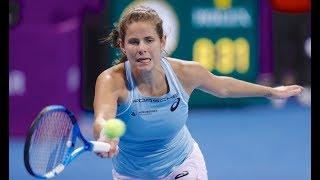 2018 Qatar Total Open First Round | Julia Goerges vs. Lucie Safarova | WTA Highlights