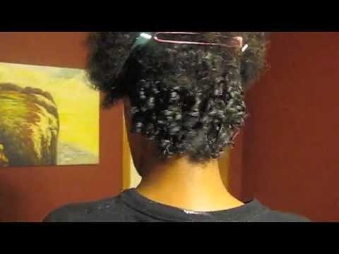 032 Short Natural Hair Finger Coils YouTube