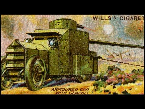 WW1 Motor Monsters - First World War Tanks Forerunner