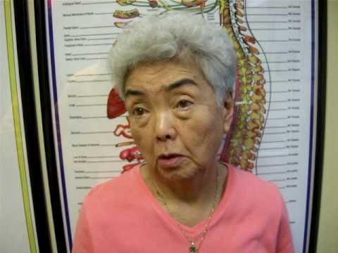 ... Hirakawa of Schaumburg received a cortisone shot from her physician.
