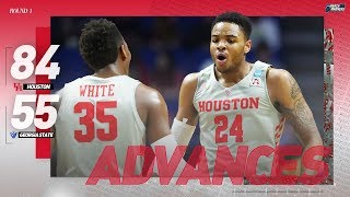Houston vs. Georgia State: First round NCAA tournament extended highlights