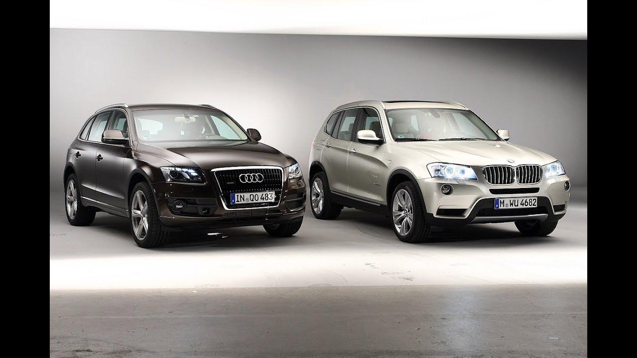 Bmw X3 Vs. Audi Q5 >> BMW X3 vs. Audi Q5 - Bayrisches Duell in der SUV Klasse - YouTube