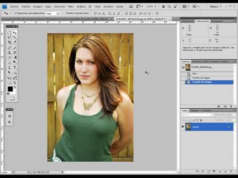 11 - Curso de Photoshop - Herramienta Licuar