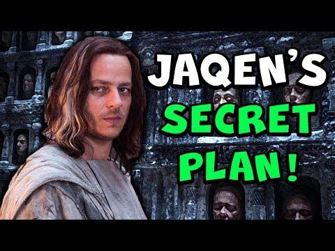 Jaqen's Secret Plan For Arya In Season 8! (Game of Thrones)