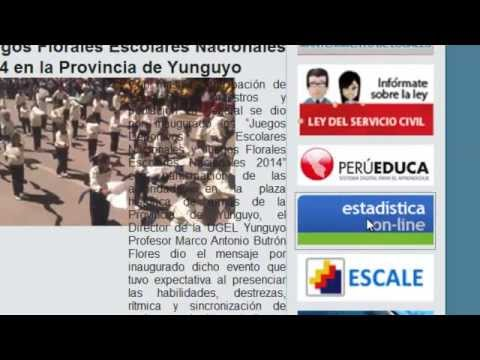 VIDEO TUTORIAL PARA REPORTE DEL CENSO ESCOLAR 2014