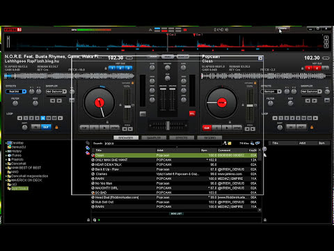 Virtual DJ Keyboard & Mouse - Scratch Tutorial