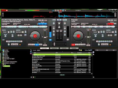 Virtual DJ Keyboard & Mouse - Scratch Tutorial