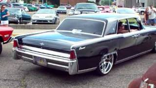 play bagged 1964 lincoln continental on 24 inch rims. Black Bedroom Furniture Sets. Home Design Ideas