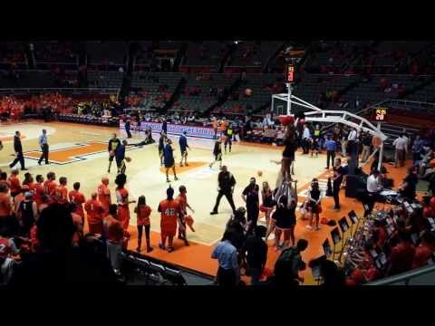 Michigan Wolverines Basketball vs Illinois Fighting Illini: March 4, 2014