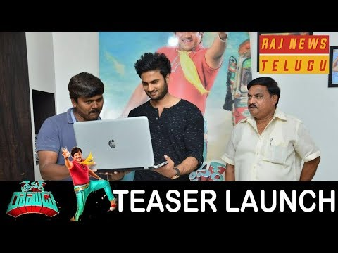 "Shakalaka Shankar's ""Driver Ramudu"" Movie Teaser Launch by Sudheer Babu 